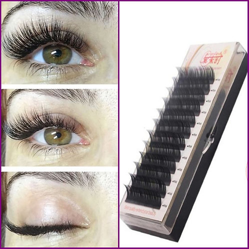 Silk Eyelash Further All Size, Mink, Individual Eyelash Extensions