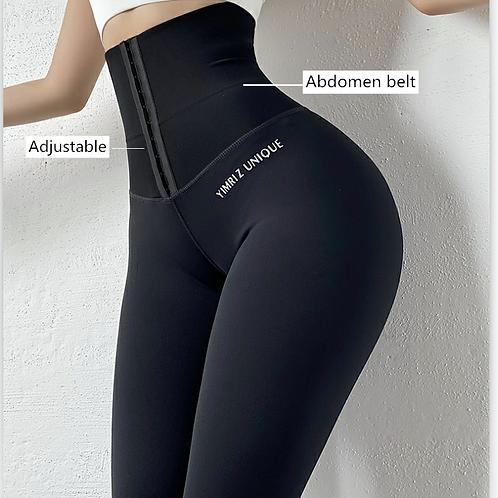 High Waist Body Shaper Corset Slim High Elastic Leggings Sportswear Femme 3XL