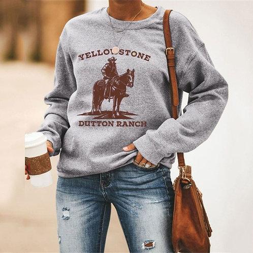 Yellowstone Dutton RANCH Women's 3D Printed Sweatshirts