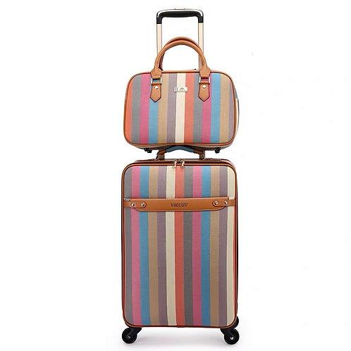 Fashion Set Luggage for Boarding Travel Luggage 16/20/24 Inch Valise