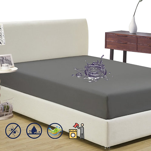 Polyester Terry Waterproof Mattress Pad Cover