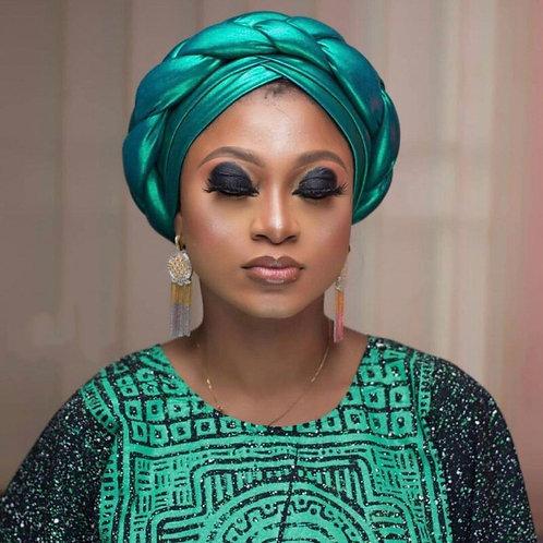 African Design Turban Muslim Knot Twist Inner Hijab Caps