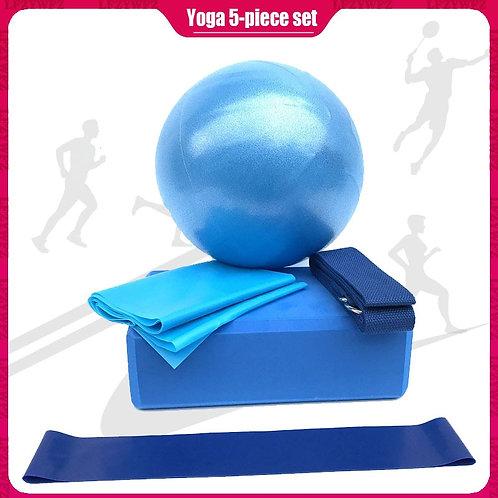 5pcs/Set Yoga Ball Set Pilates Equipment Set