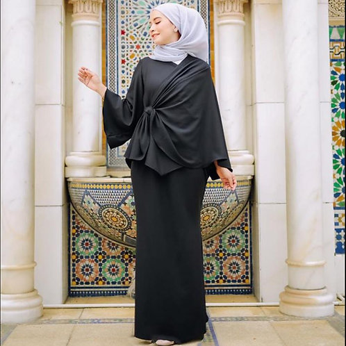 Hijab Kaftan Islamic Suits Femme Ensemble