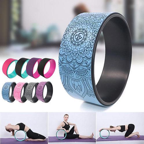 Roller Wheel Pilates Ring Yoga Circle