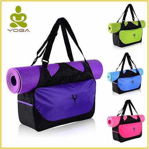 Quality Waterproof Nylon Backpack Yoga Pilates Mat Bag No Yoga Mat