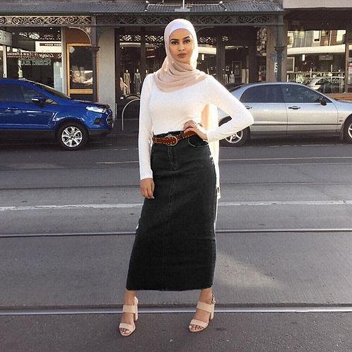 Ramadan Denim Baju Vestido