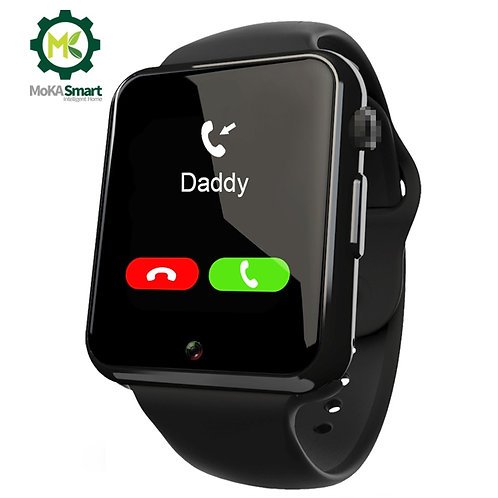 Smart Watch Support Independent Call SIM Card With Camera Message Notification
