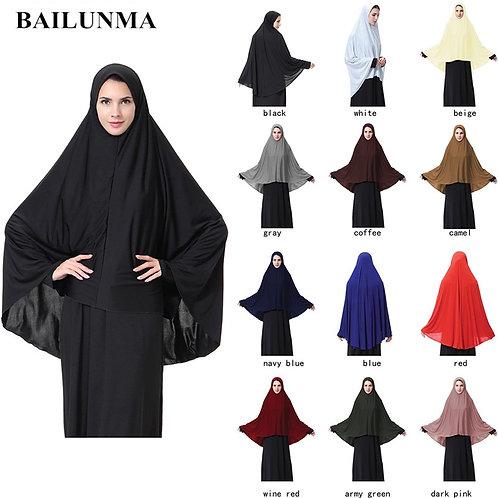 Women's Prayer Clothing Black Arabian Women Long Muslim Abaya Products