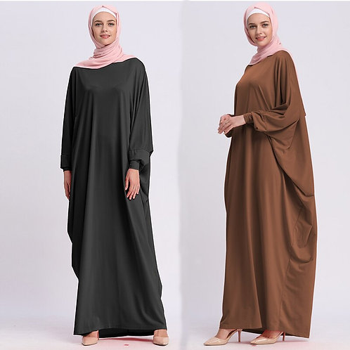Eid Kaftan Abaya Moroccan Caftan Turkey Long Muslim Hijab Dress