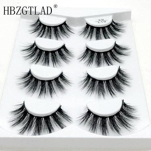 3D Mink Lashes Eyelash Extension