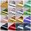 Thumbnail: 16pcs 20*4cm Nail Art Transfer Foil Sticker Ongles Mix