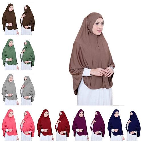Muslim Hijab Robe Arab Headscarf