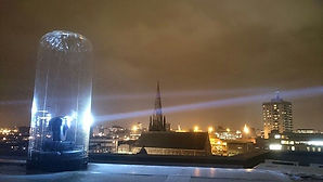 Sky search lights (Sky tracers)
