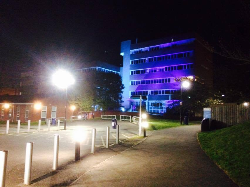 Leicester College Lighting