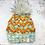 Thumbnail: Peak to Peak Beanie Kit - Juniper/Pumpkin Pie