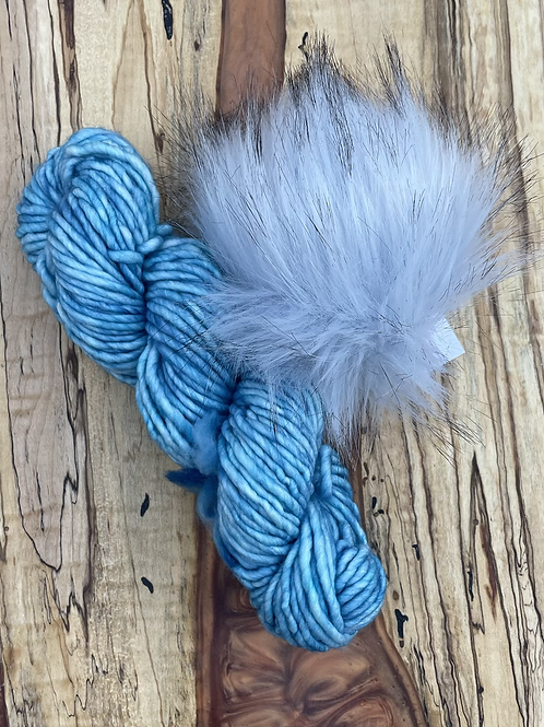 Juniper Breeze Beanie Kit - Blue