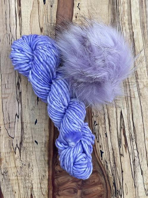 Juniper Breeze Beanie Kit - Purple