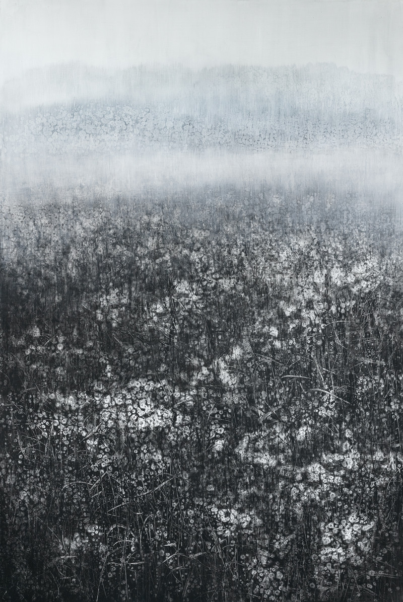 The Memory of Nature (21-51) Canvas on Acylic 194x130cm 2021