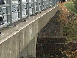 Most po aplikaci hydrofobizace
