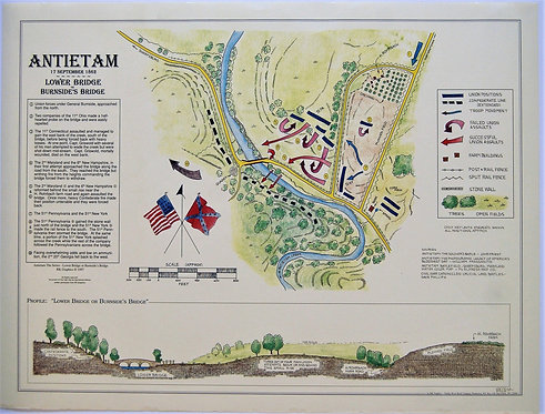 Antietam advancement of forces