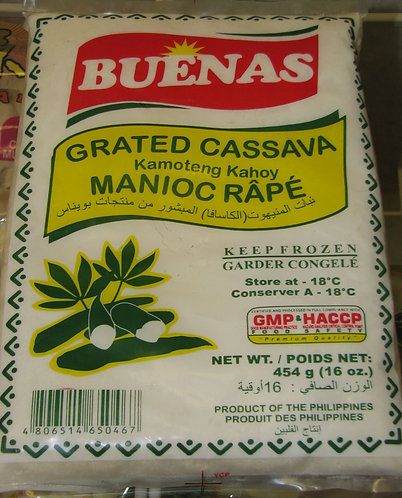 GRATED CASSAVA