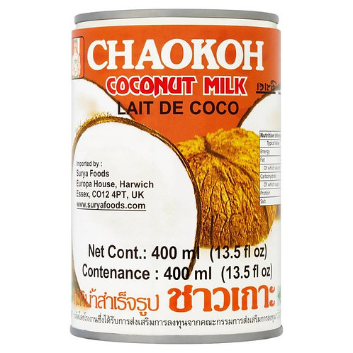 coconut milk - chaokoh - 400ml