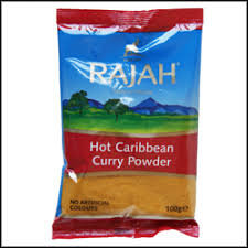 HOT CARIBBEAN CURRY POWDER - 100G