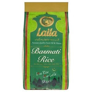 Laila basmati white rice 5kg