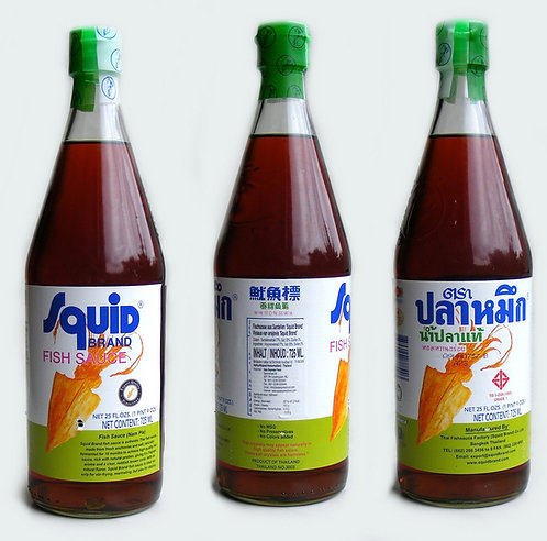 Fish Sauce squid brand