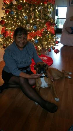 Chelsea E . at Christmas 2014