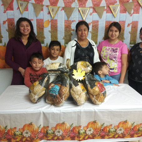 Turkey Blessings for RCYF Families