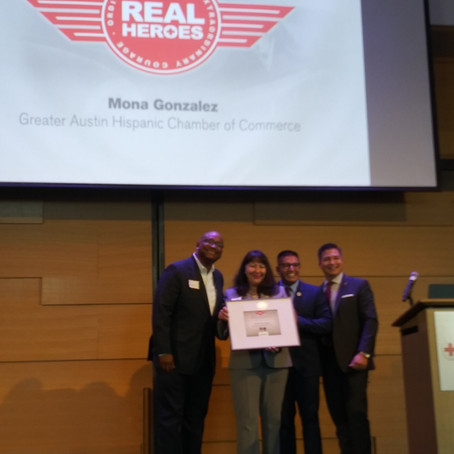Hero Award Given to RCYF Director Mona Gonzalez