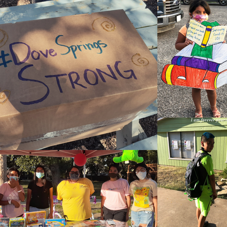 Teens Help Their Community to be #DoveSpringsStrong