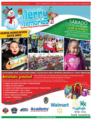 family flyer-merry memories 2019 spanish