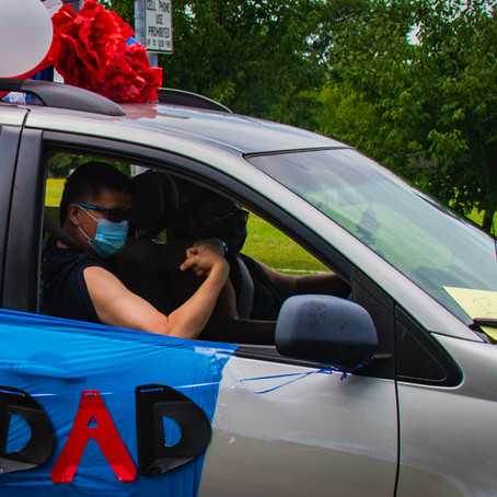 RCYF Hosts 16th Annual Father's (Car) Parade