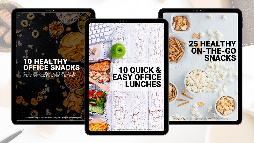 Easy Healthy Office Snacks & Lunches