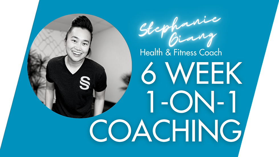 6 Week 1:1 Coaching