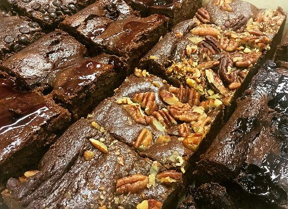 Vegan Mixed Brownie Box...    (6 Brownies) (inc. P&P)