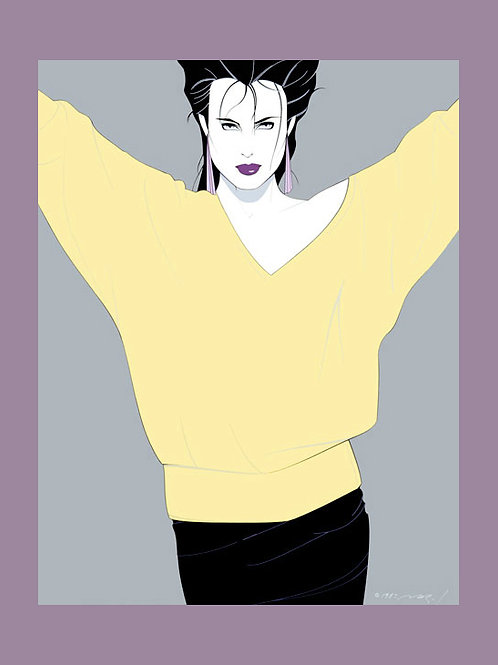Patrick Nagel Commemorative Poster (CN 8)