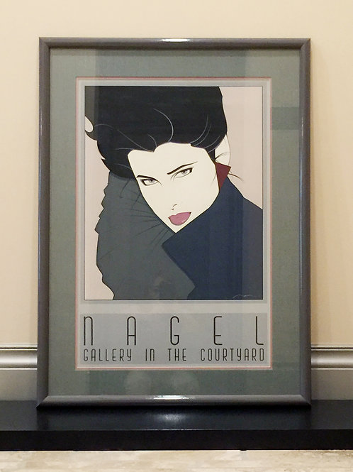 Patrick Nagel Commemorative Poster (CN7)