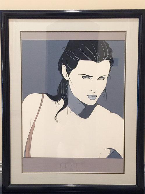 Patrick Nagel Commemorative Poster (CN14) Black Frame