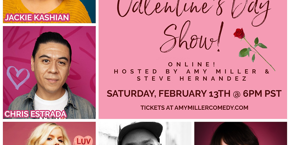 A Very Horny Valentine's Day Comedy Show with Who's Your God?