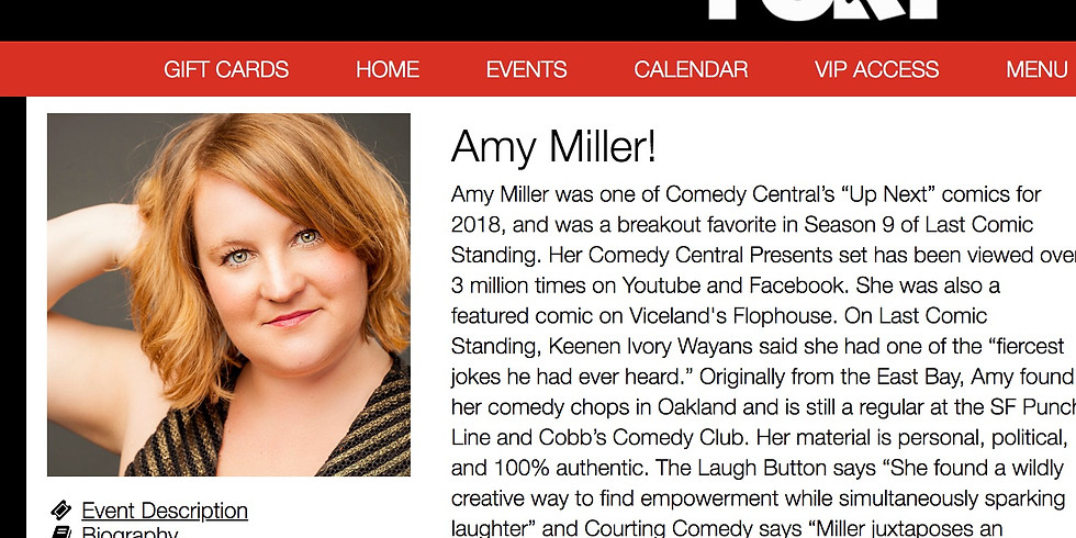 Headlining The Comedy Fort in Ft. Collins, CO