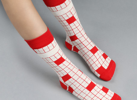 Funky Socks are Very Fashionable in 2020!
