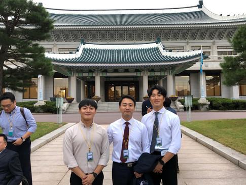 2019.09.27 청와대 경호팀 시연2