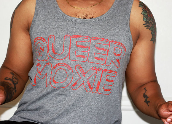 QUEER MOXIE (Classic Gray Tank)