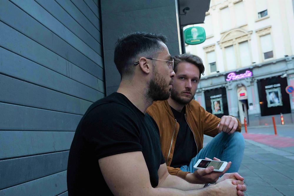 "Romain Butti meets LeDé Milestone before the release of the Luxembourgish rapper's album ""Delta""."