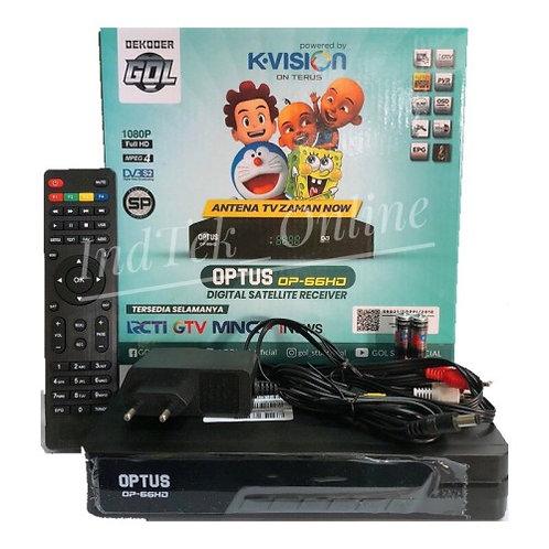 Receiver Optus OP-66 HD