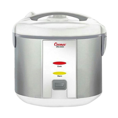 Rice Cooker Cosmos CRJ 9303 STAINLESS STEEL